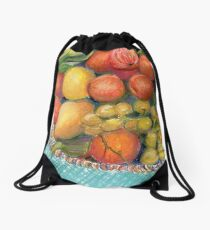 Feeling Fruitful Drawstring Bag