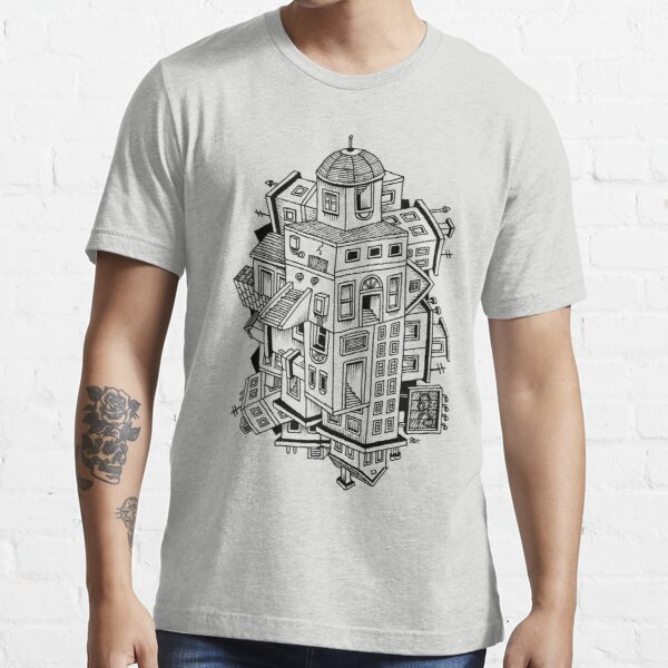 Impossible Buildings Essential T-Shirt