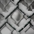 Snow Fence by Laoghaire