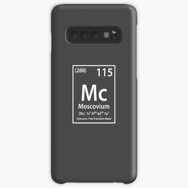 Moscovium Element Samsung Galaxy Snap Case