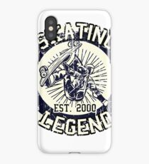 Skating Legend Skater Est 2000 iPhone Case/Skin