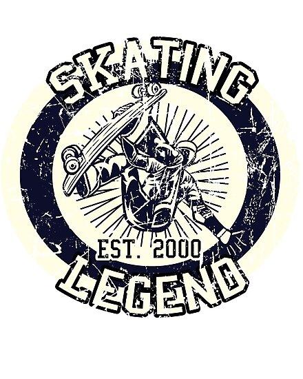 Skating Legend Skater Est 2000 by patayaH