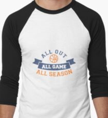 With all your strength Men's Baseball ¾ T-Shirt
