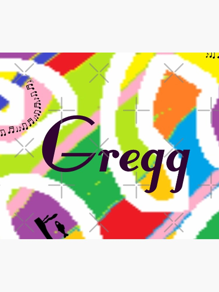 Gregg - original artwork to personalize your gift by myfavourite8