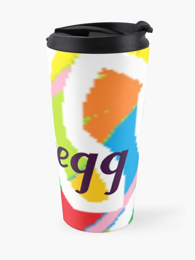 Alternate view of Gregg - original artwork to personalize your gift Travel Mug