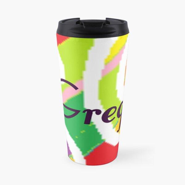 Gregg - original artwork to personalize your gift Travel Mug