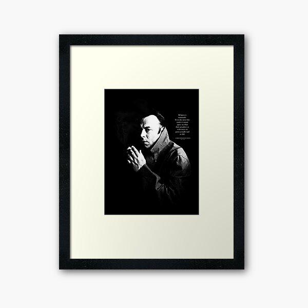 HITCH un Framed Art Print