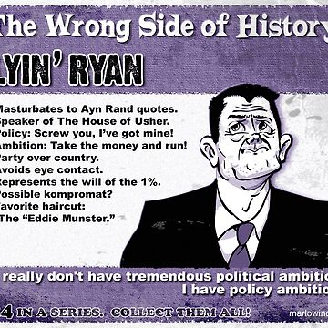 Lyin' Ryan by marlowinc