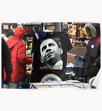Economic Stimulus Barack Obama Poster