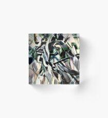 Unraveled Three Acrylic Block