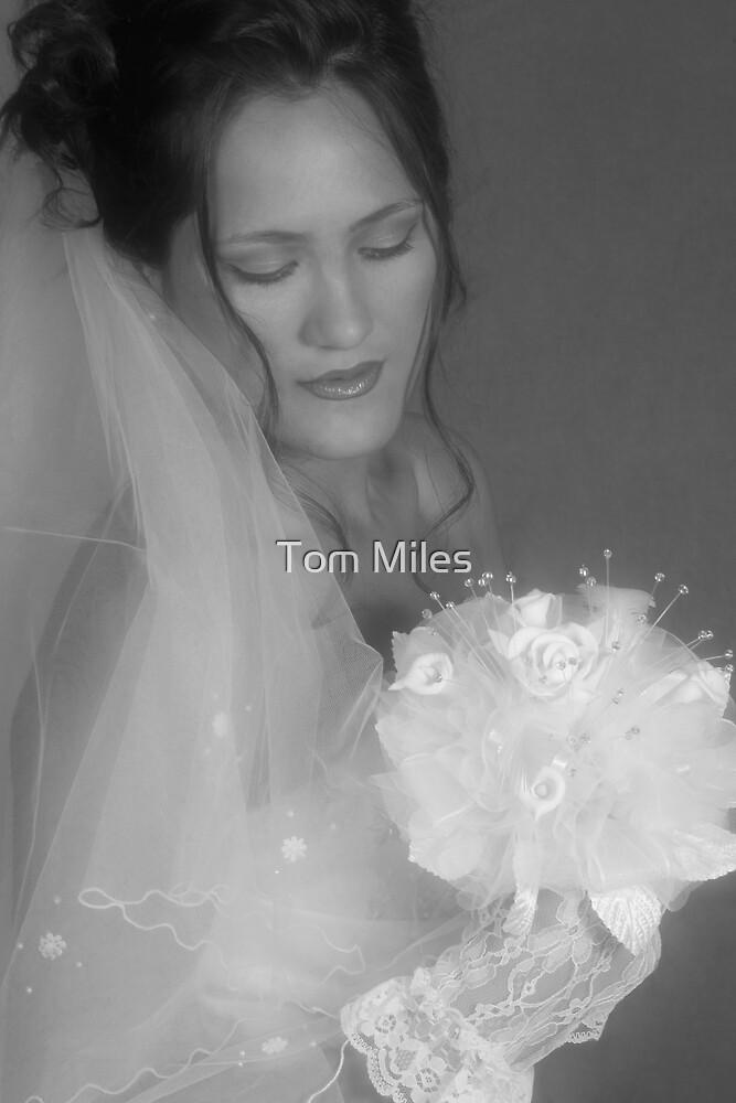 White wedding by Tom Miles