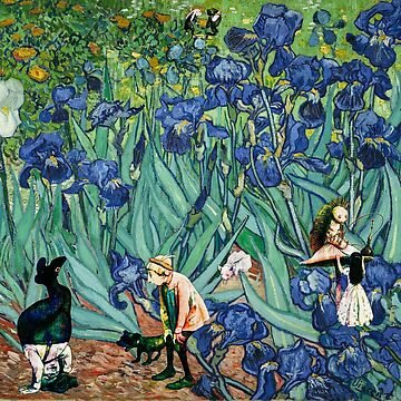 Vincent Van Gogh Down the Rabbit Hole by AtticSalt