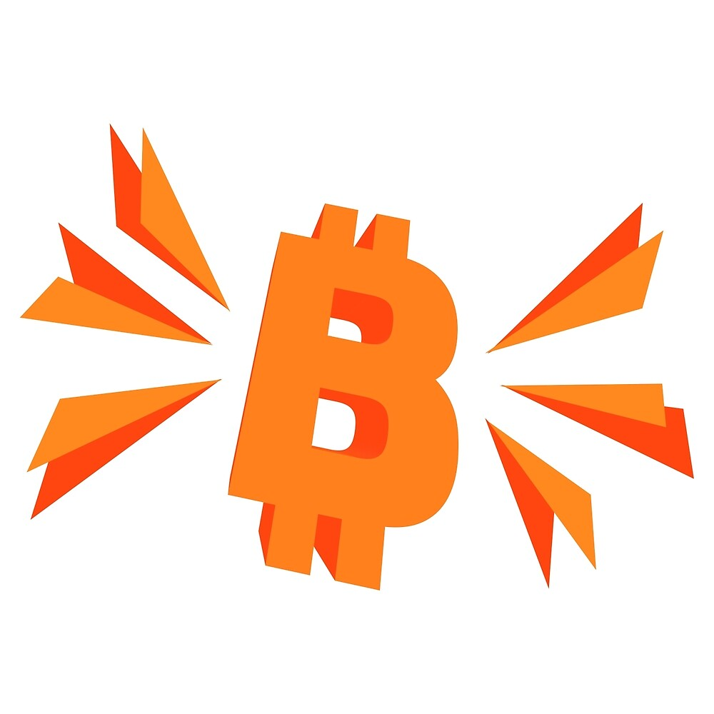 Bitcoin - BTC – Cryptocurrency  by Wave Lords United