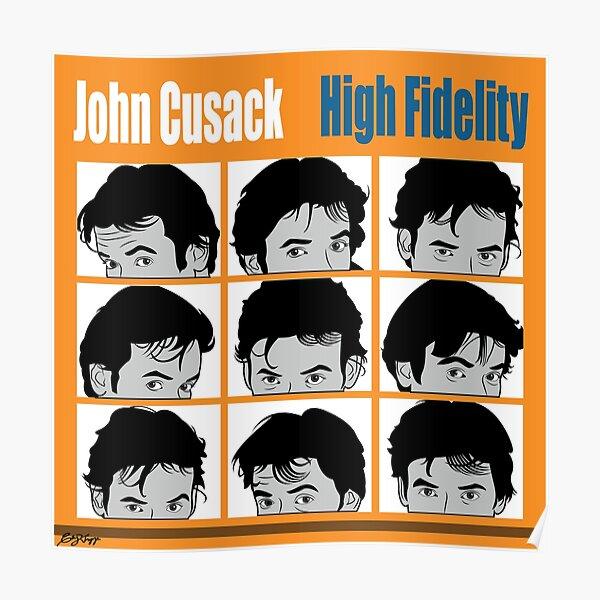 High Fidelity - John Cusak Poster