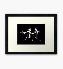Cosmos Pulp Fiction Framed Print