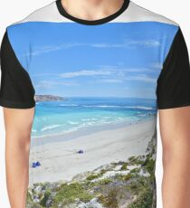 Almonta Beach and Golden Island - best viewed large Graphic T-Shirt