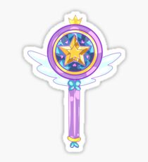 Magic Girl Wand Sticker