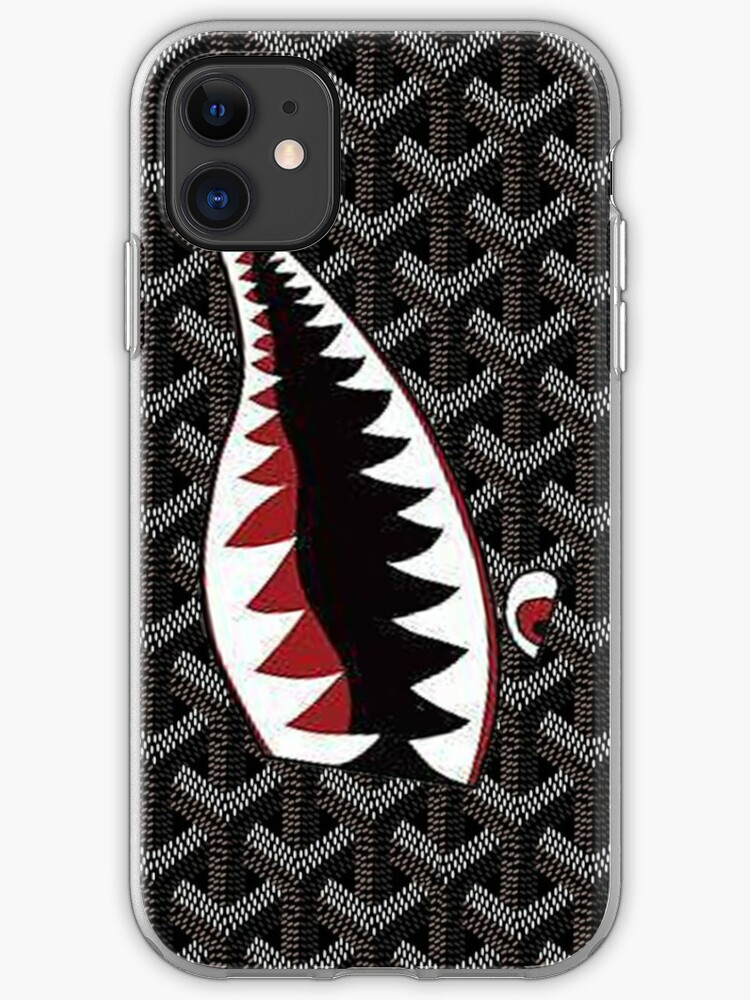 Sharks in the dark blue iphone 11 case