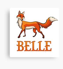 Belle Fox Canvas Print