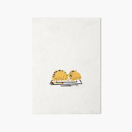 Tacos Art Board Print