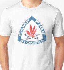 Camp Fire Stoners Unisex T-Shirt
