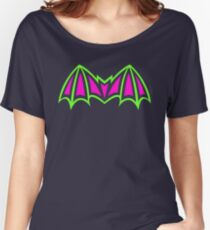 Skeletor - Battle Armor Bat Symbol - MOTU Women's Relaxed Fit T-Shirt