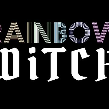 Rainbow Witch by Nowhere89