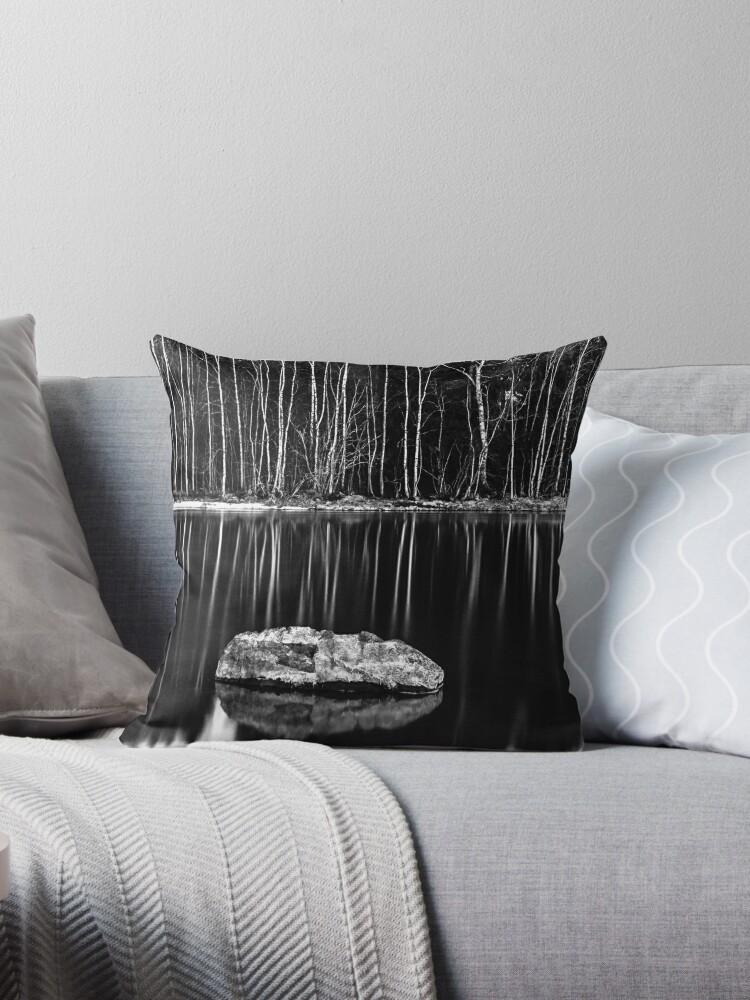 STICKS AND STONES [Throw pillows] by Matti Ollikainen