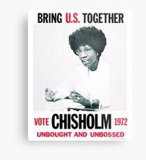 Shirley Chisholm for President Metal Print