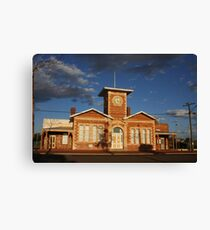 Menzies Townhall Canvas Print