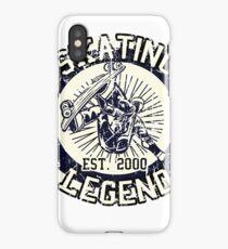 Skateboarder Skating Legende Board 2000 iPhone Case/Skin