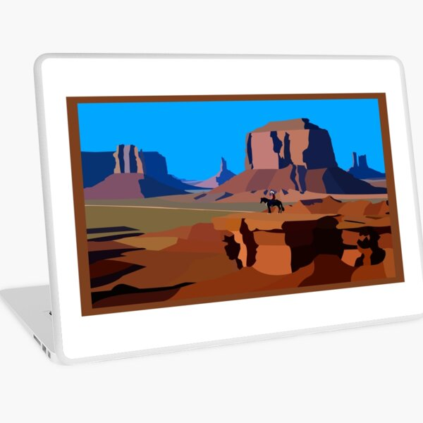 On the Trail Laptop Skin