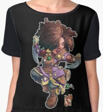 Fitzhywel's Fantastical Paraphernalia: Tiny Bard! Chiffon Top