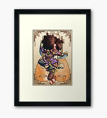 Fitzhywel's Fantastical Paraphernalia: Tiny Bard! Framed Print