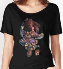 Fitzhywel's Fantastical Paraphernalia: Tiny Bard! Women's Relaxed Fit T-Shirt