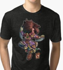 Fitzhywel's Fantastical Paraphernalia: Tiny Bard! Tri-blend T-Shirt
