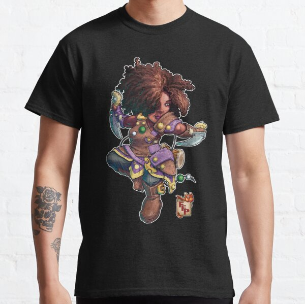 Fitzhywel's Fantastical Paraphernalia: Tiny Bard! Classic T-Shirt