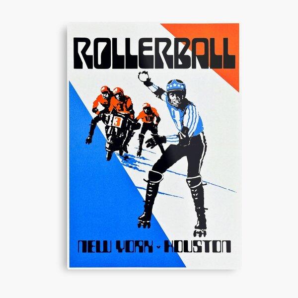 Rollerball - New York vs Houston Metal Print