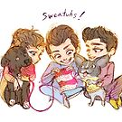 Sweater boys, sweater dogs by alulawings