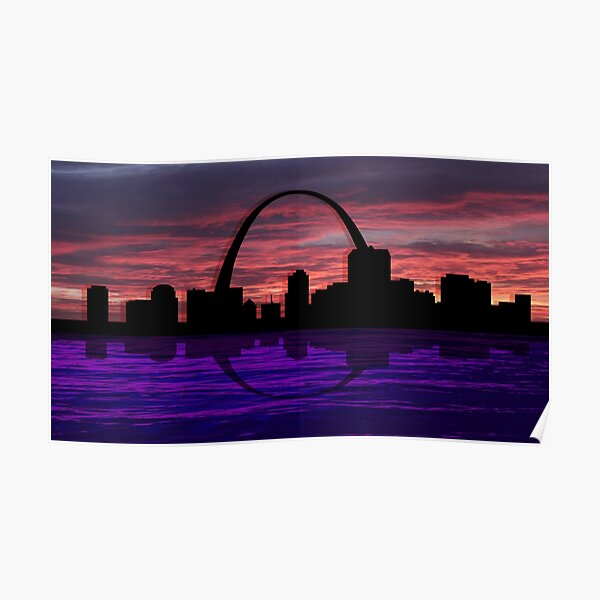Night in St. Louis Poster