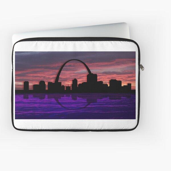 Night in St. Louis Laptop Sleeve