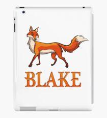 Blake Fox iPad Case/Skin