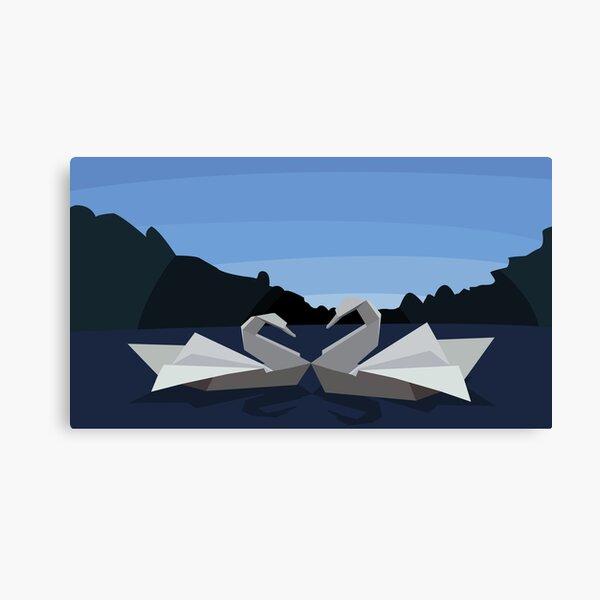 The Swan Lake Canvas Print