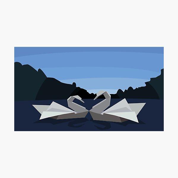 The Swan Lake Photographic Print