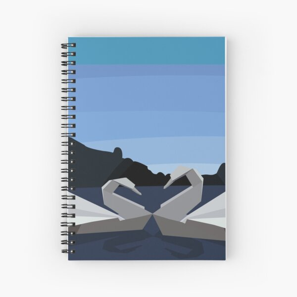 The Swan Lake Spiral Notebook