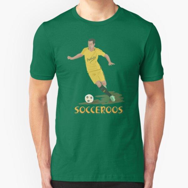 Aussie Socceroos  Slim Fit T-Shirt