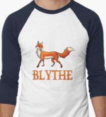 Blythe Fox Men's Baseball ¾ T-Shirt