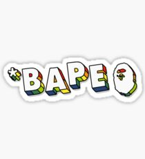 BAPE BOGO Sticker