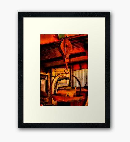 """""""Heavy Kettle"""" Framed Print"""