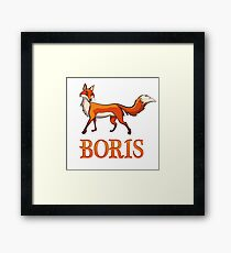 Boris Fox Framed Print